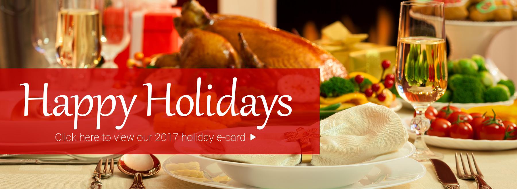 Happy Holidays from Rapattoni Corporation 2017