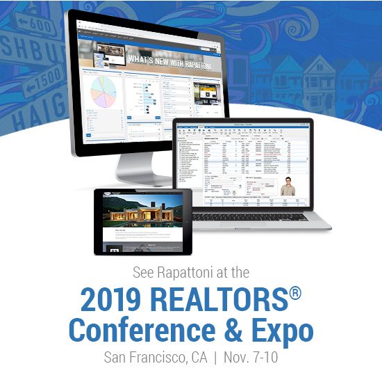 See Rapattoni at the 2019 REALTORS® Conference & Expo