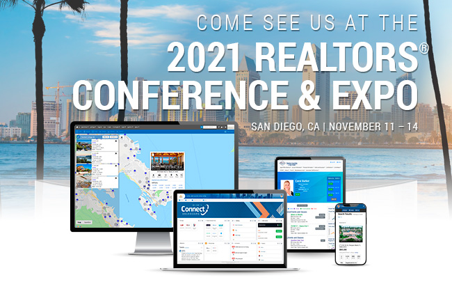 Come see us at the 2021 REALTORS Conference & Expo